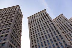 квартиры блока самомоднейшие Стоковое Изображение RF
