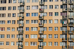 квартиры блока Стоковые Изображения RF