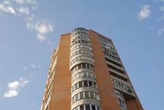 квартиры блока multistorey Стоковая Фотография