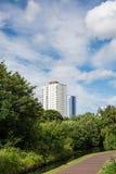 Квартиры высотного здания Стоковые Фотографии RF