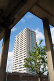 Квартиры высотного здания Стоковое фото RF