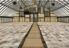 Квартиры в парнике горизонтальном Стоковые Фотографии RF