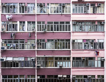 Квартиры Гонконга Стоковое фото RF