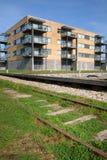 квартиры железнодорожные Стоковое Фото