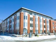 квартиры здания жилого квартала стоковая фотография rf