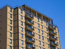 квартиры здания жилого квартала стоковое изображение rf