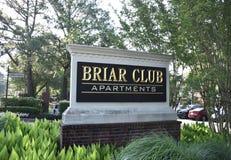 Квартиры клуба Briar, Мемфис, TN стоковое изображение rf