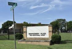 Квартиры площади Montogomery, Мемфис, TN стоковое изображение rf