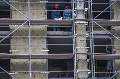 Квартиры ремонта лесов Стоковое Фото