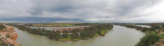Квартиры южная Австралия ходоков Рекы Murray стоковое фото rf