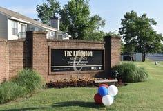 Квартиры Ellington, Мемфис, TN стоковые изображения