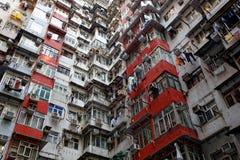 квартиры Hong Kong старое Стоковые Фото