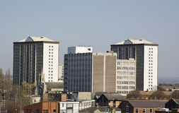 Квартиры Portsea, Portsmouth, Хемпшир Стоковые Изображения RF