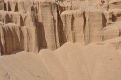 кварцевый песок предпосылки Стоковая Фотография