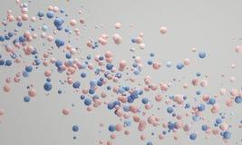 Кварц предпосылки конфеты пастельного цвета розовый, симпатичная пастельная предпосылка Стоковое Изображение RF