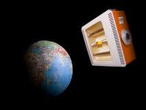 кварц светильника глобуса Стоковые Фото
