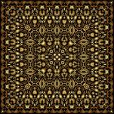 Квадратная картина золота Стоковое Изображение RF
