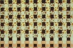 Квадратная картина сплетенных пластичных линий Стоковые Изображения RF