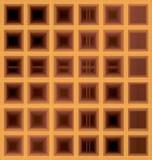Квадратная предпосылка waffle Стоковое фото RF