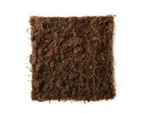 Квадратная часть почвы стоковая фотография