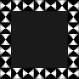 Квадратное фото формата, картинная рамка с мозаикой линий Стоковое Изображение