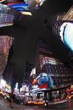 квадратные времена город New York Стоковое Фото
