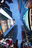 квадратные времена город New York Стоковые Фото