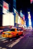 квадратные времена таксомотора Стоковое Фото