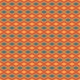 Квадратный абстрактный вектор картины батика Стоковая Фотография RF