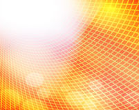Квадратный свет зарева - желтая предпосылка цвета иллюстрация штока