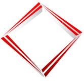 Квадратный символ квадрата конспекта геометрического элемента Квадратный логос бесплатная иллюстрация
