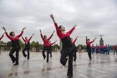Квадратный танец Стоковое Изображение