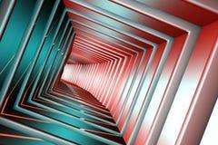 Квадратный тоннель Стоковое фото RF