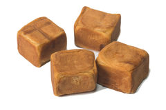 Квадратный торт китайца Стоковые Фотографии RF