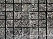 квадратный фасад точного гравия Стоковые Изображения RF