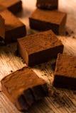 Квадратный шоколад Стоковая Фотография RF