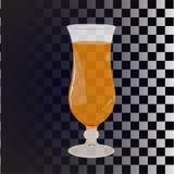 квадраты абстрактной черноты предпосылки динамически белые Стекло для коктеиля, прозрачное Половинная тень Отражения, слепимость  Стоковые Фотографии RF