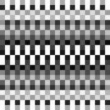 Квадраты, блоки резюмируют monochrome геометрическую картину, backgroun Стоковое Изображение