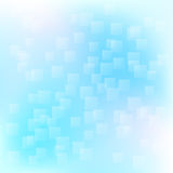 Квадраты летая в небо Стоковые Фото