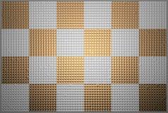 Квадраты металла Стоковое фото RF
