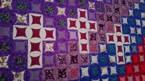 Квадраты лоскутного одеяла Стоковые Фотографии RF