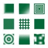 Квадраты полутонового изображения Стоковое Фото