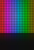 квадраты радуги плана решетки Стоковое Фото