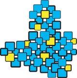 квадраты Стоковая Фотография