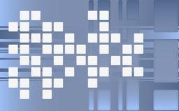 квадраты Стоковое Изображение