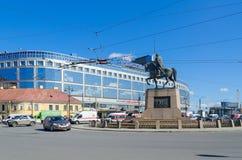 Квадрат Александра Nevsky, Санкт-Петербург, Россия Стоковые Фотографии RF