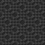 Квадрат безшовной элегантной темной бумажной проверки картины 002 искусства 3D перекрестный бесплатная иллюстрация