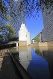 Квадрат благодарения в городском Далласе Стоковое Изображение