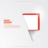 Квадрат вектора. Абстрактный красный цвет карточки предпосылки. бесплатная иллюстрация