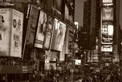 Квадрат времени в New York City Стоковые Изображения
